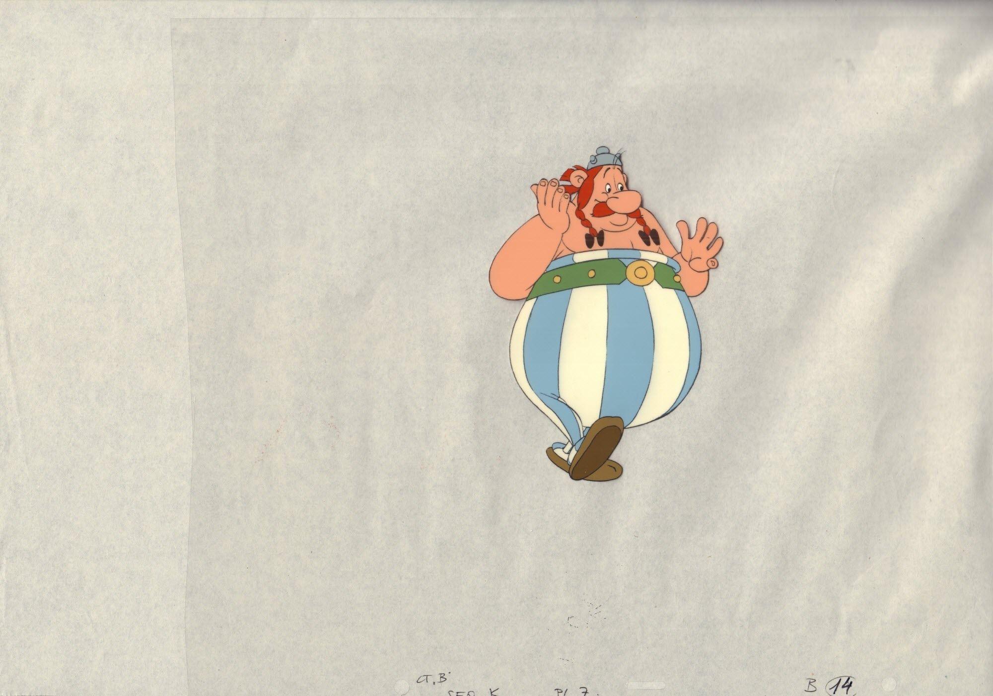 Asterix w Brytanii, D
