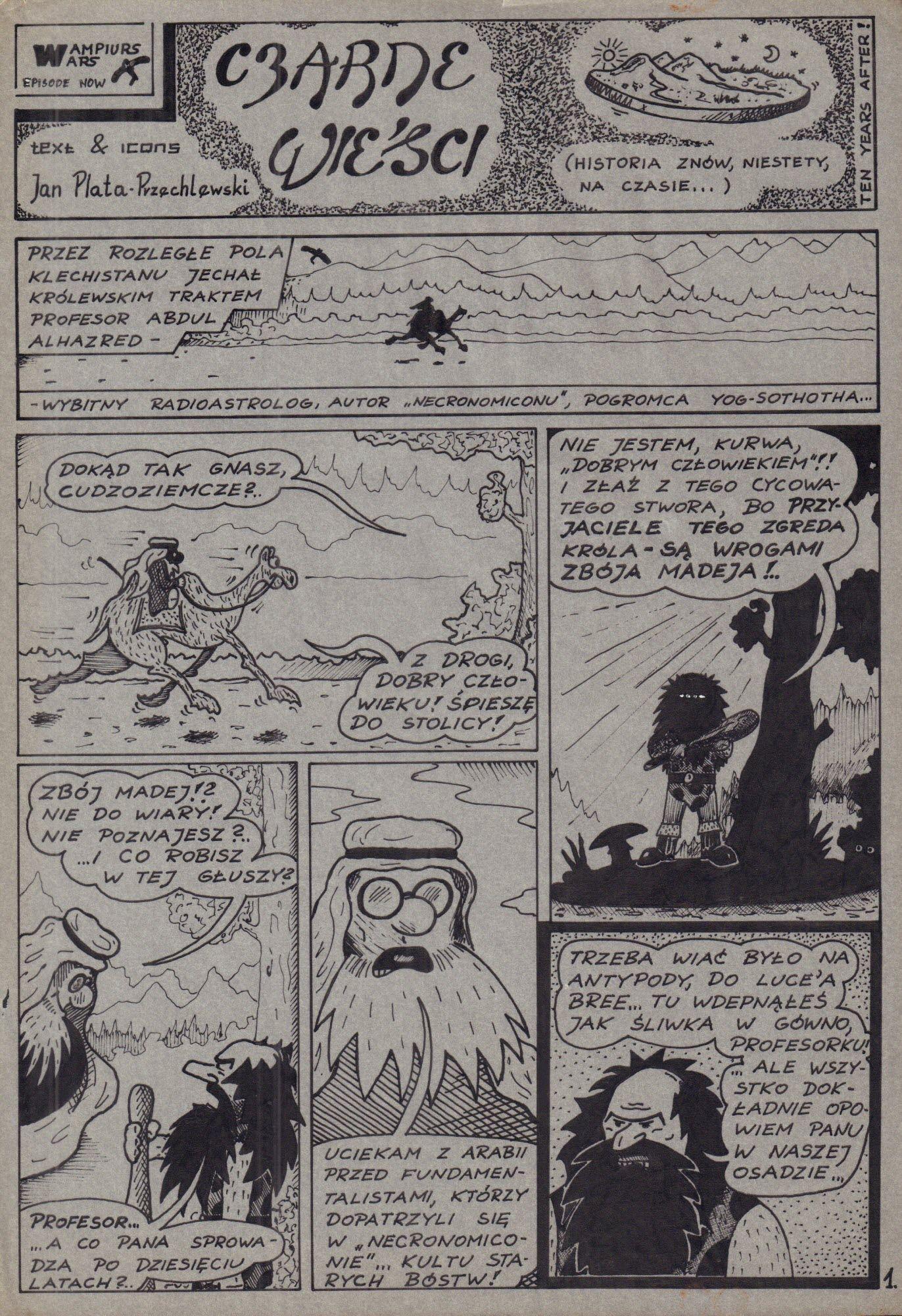 Wampiurs Wars. Czarne wieści, s. 1/3