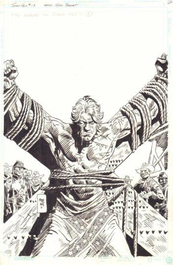 Jonah Hex vol 2 #13 - okładka