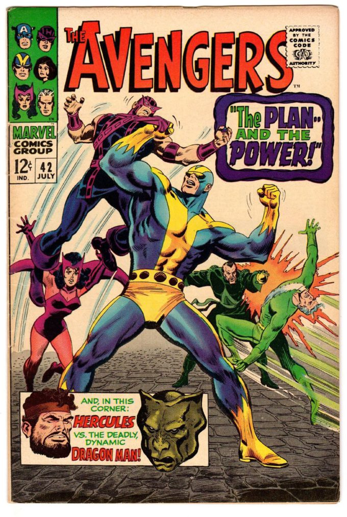 The Avengers: Age of Ultron #6 - okładka (tusz) czarno-biały