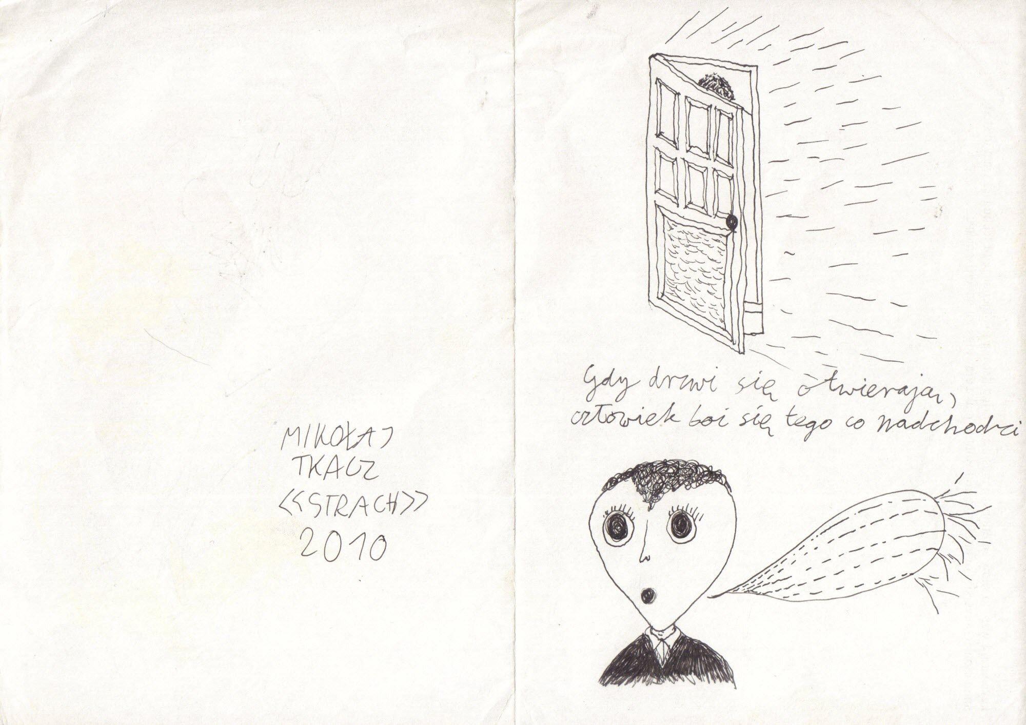 Strach (rysunek i kolor)