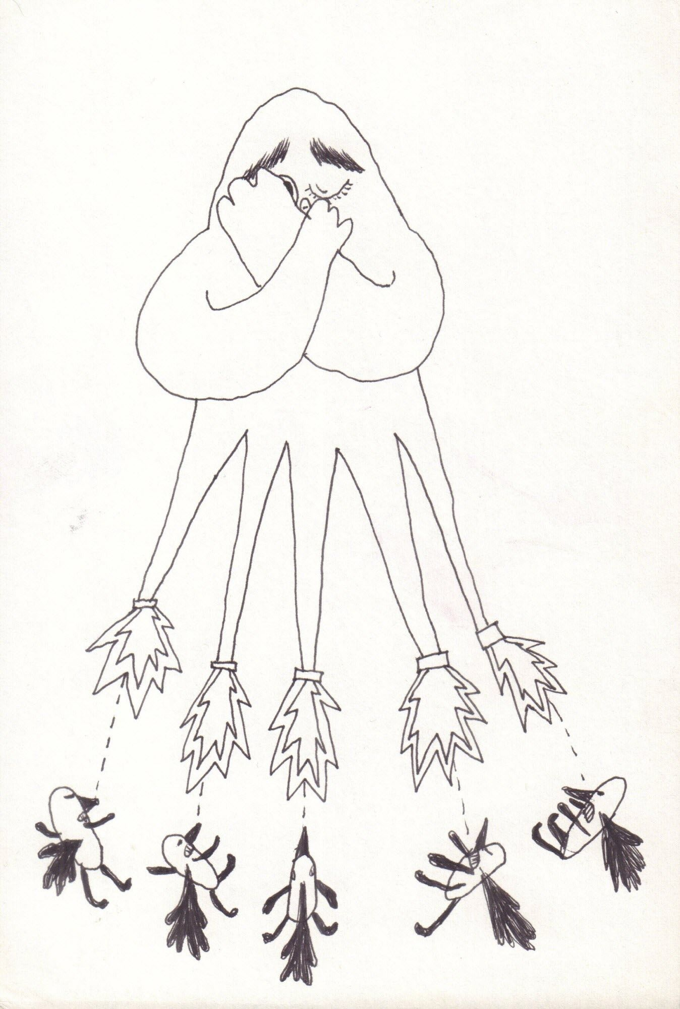 Niechęć (rysunek i kolor)