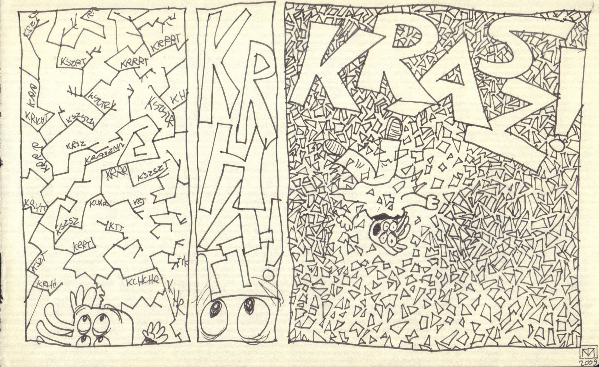 Strona z komiksu Ajlajktobi