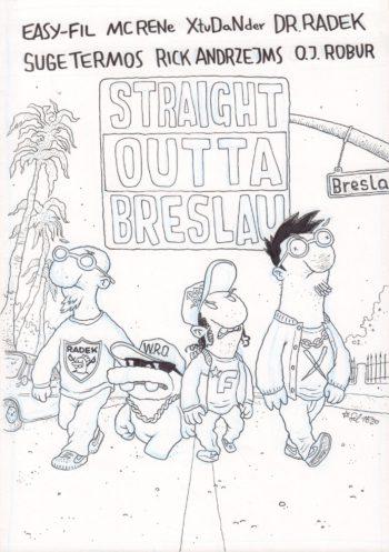 Straight Outta Breslau - okładka