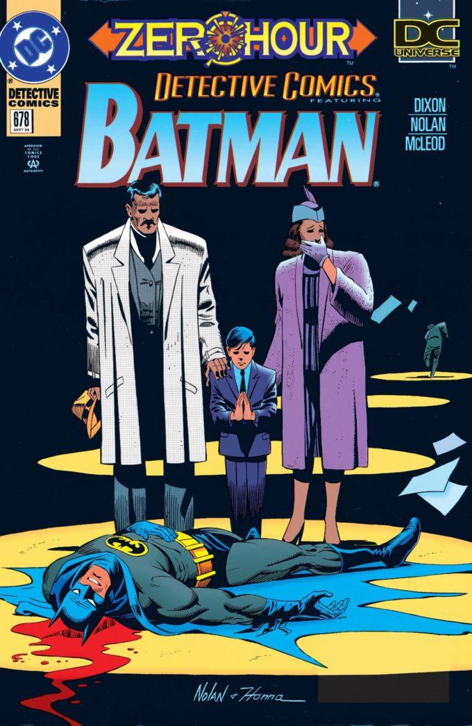 Detective Comics #678 / 21 czarno-biały