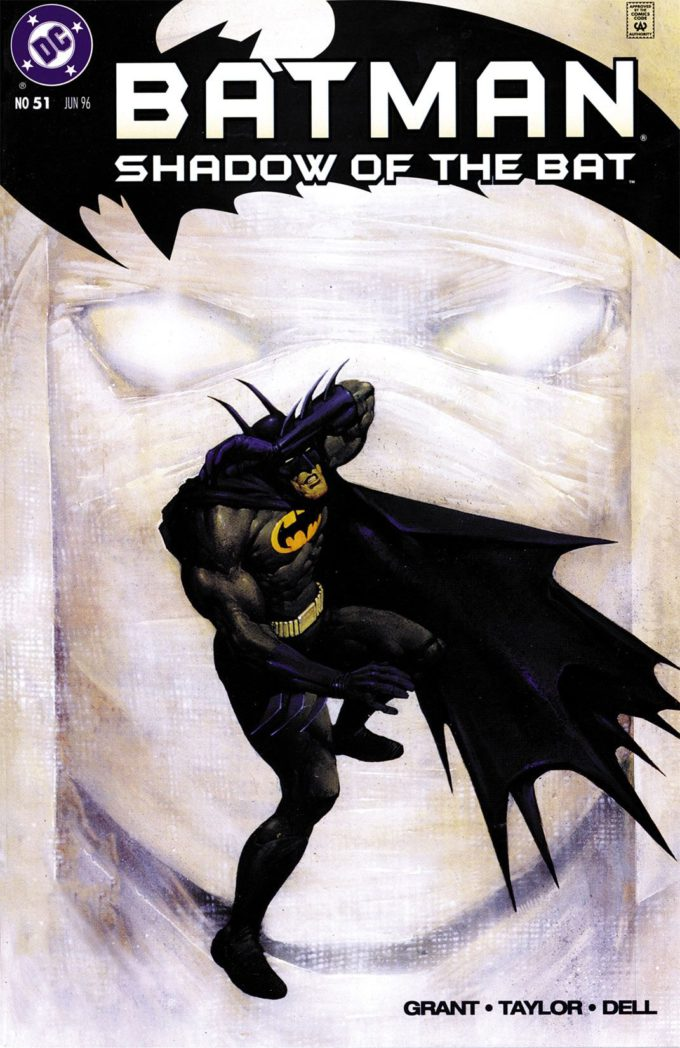 Batman: Shadow of the Bat #51 / 3 czarno-biały