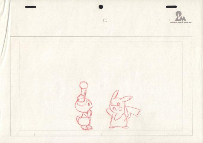 Pokemon: Pikachu's Exploration Club - szkic A