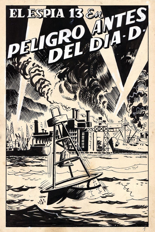 The Spy 13 - El Espia 13, Peligro Antes Del Dia-D
