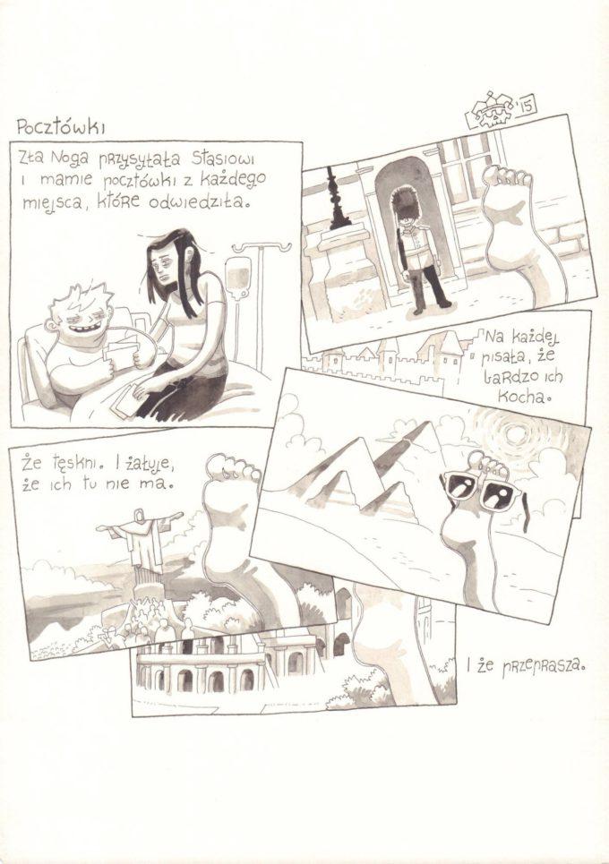 Przygody Stasia i Złej Nogi: Pocztówki