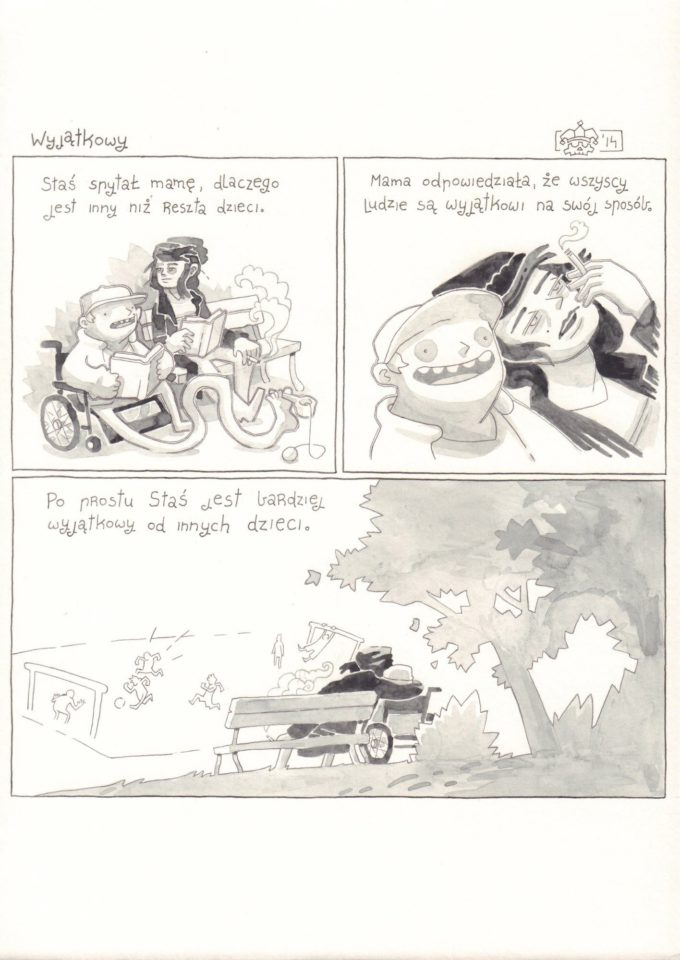 Przygody Stasia i Złej Nogi: Wyjątkowy