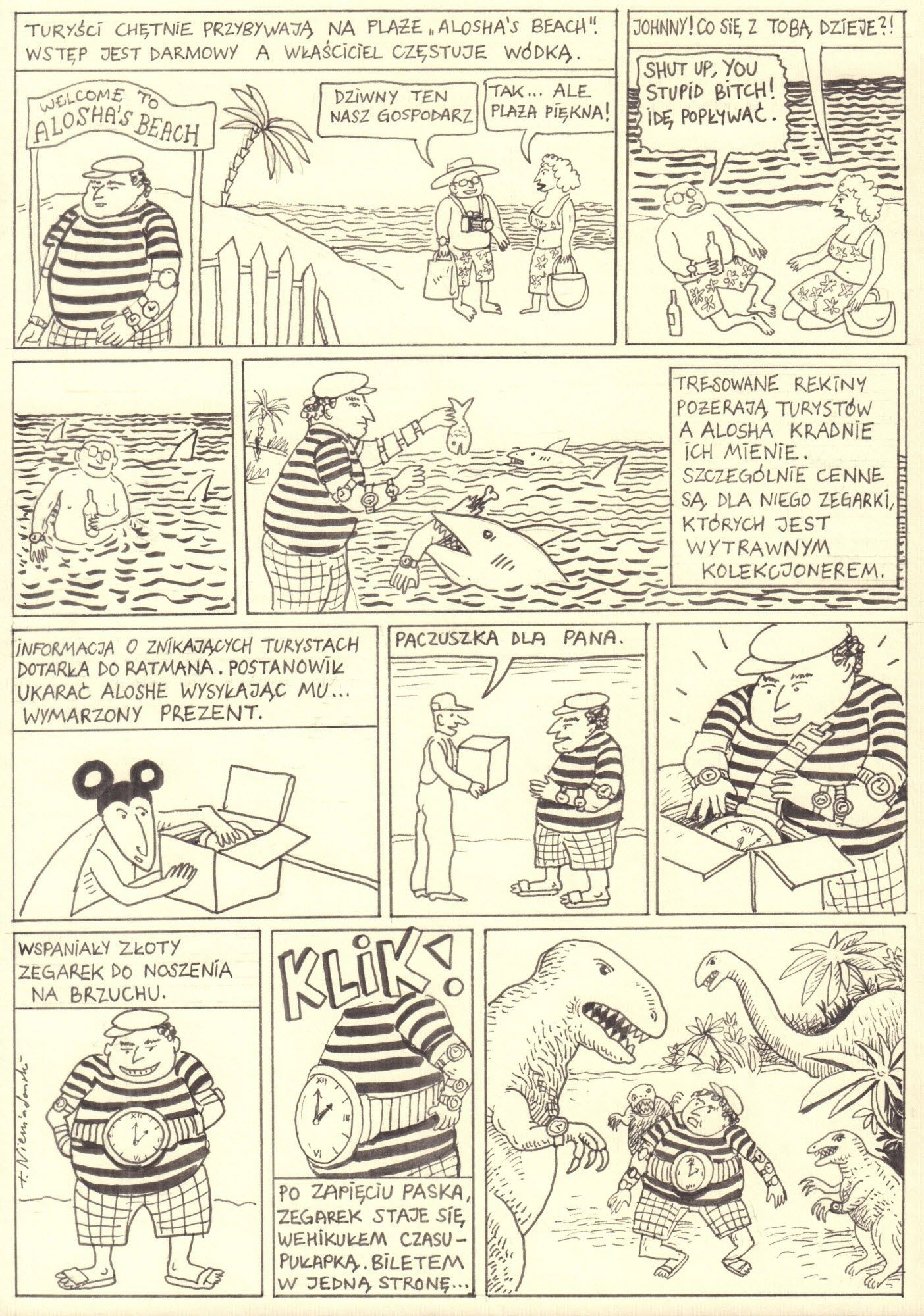 Ratman. O obrotach dział niebieskich, s. 51