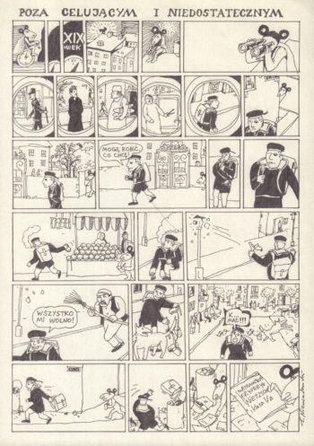 Ratman. O obrotach dział niebieskich