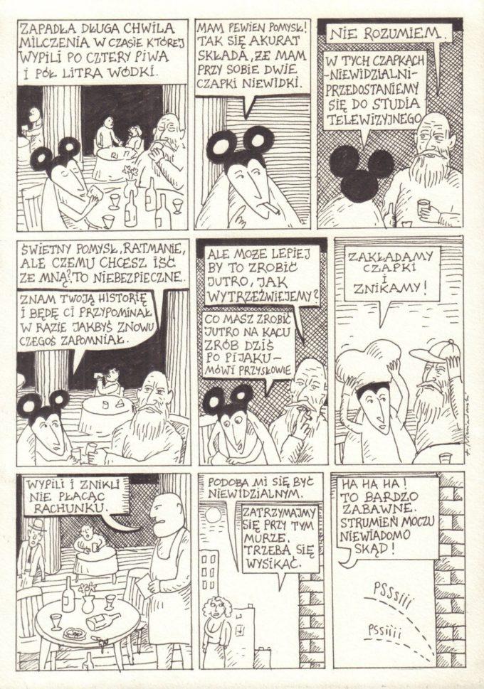 Ratman. Terror na wizji