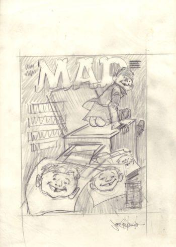 MAD #356 - szkic okładki