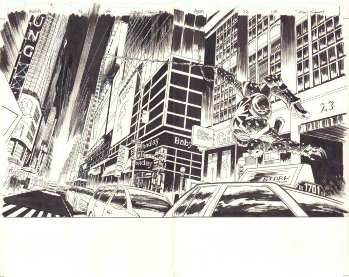 Venom #22 / 4-5 czarno-biały