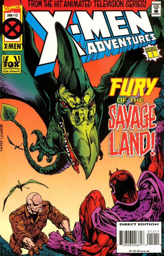 X-Men Adventures #12 / 7 czarno-biały