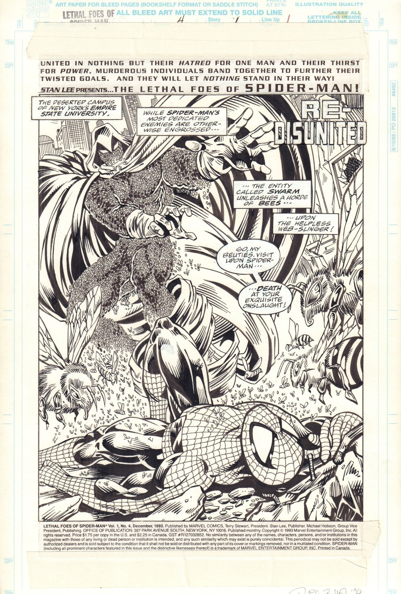 Lethal Foes of Spider-Man #4, s. 1