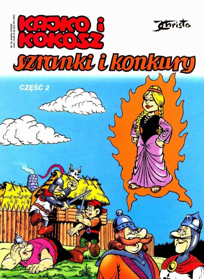 Kajko i Kokosz. Szranki i konkury 1 / 11 czarno-biały