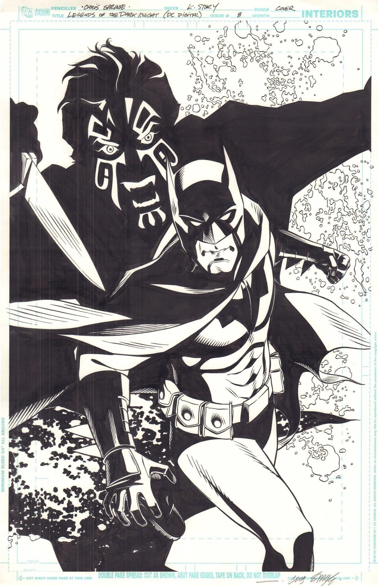 Legends of the Dark Knight #10 - okładka