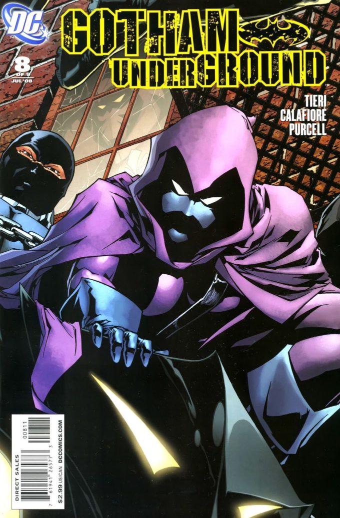 Gotham Underground #8 / 3 czarno-biały