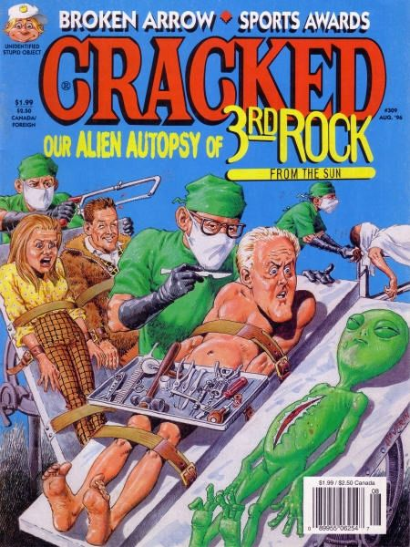 Cracked Magazine #309 / 1 kolor