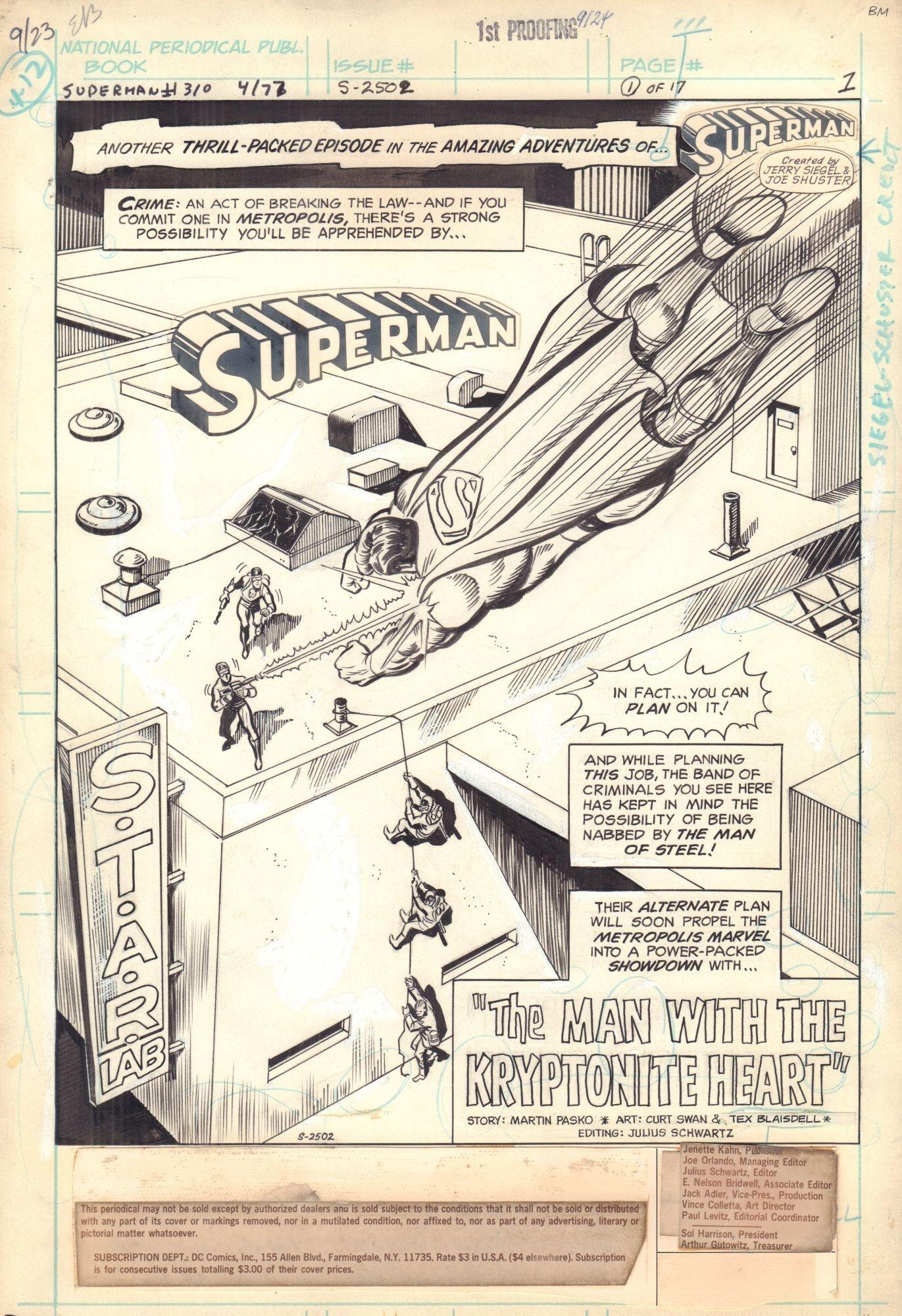 Superman #310 / 1