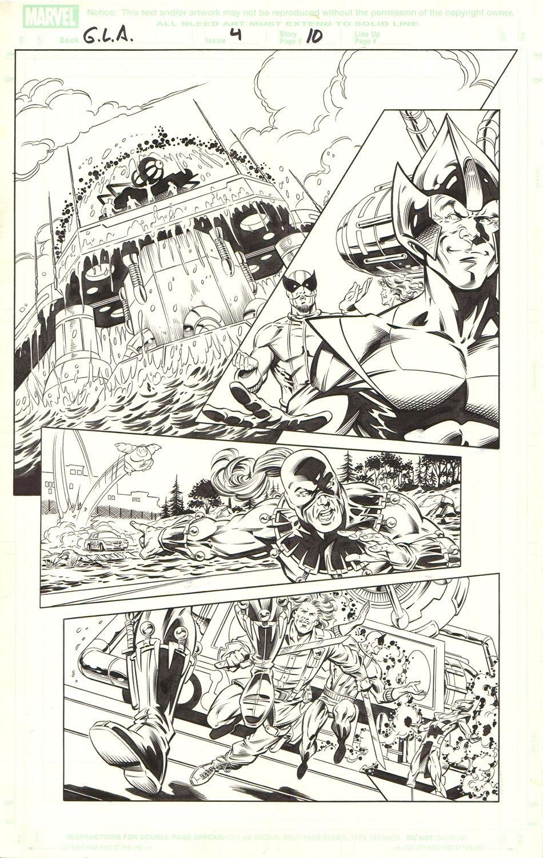 Great Lake Avengers (G.L.A.) #4 / 10