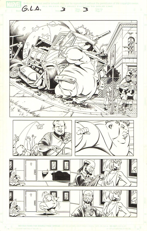 Great Lake Avengers (G.L.A.) #3 / 3