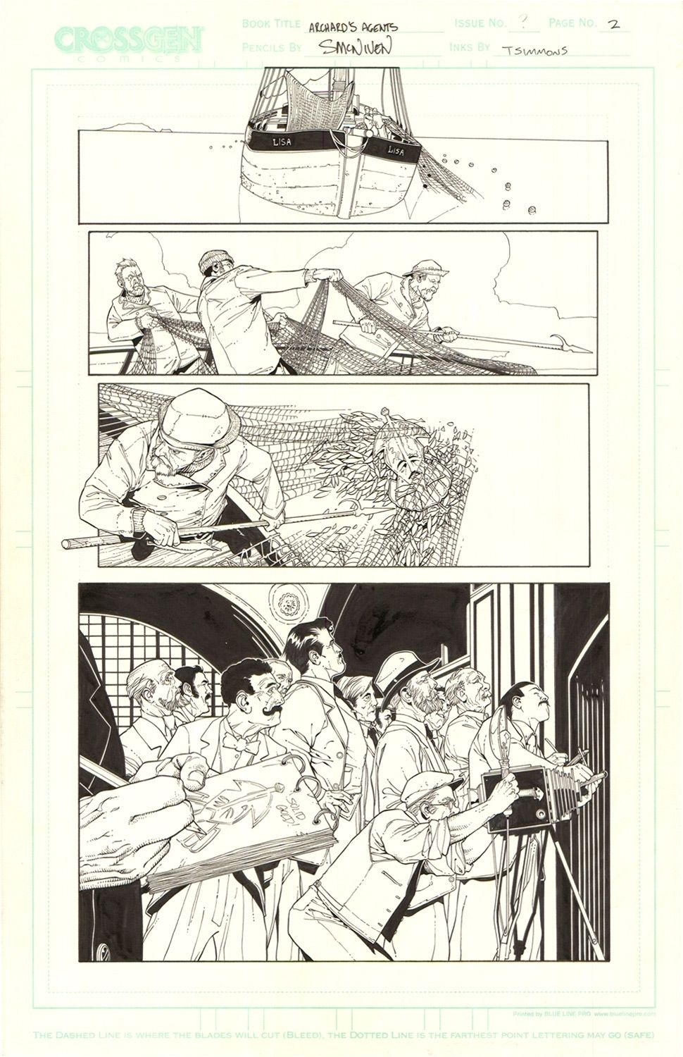 Archard's Agents #3 / 2