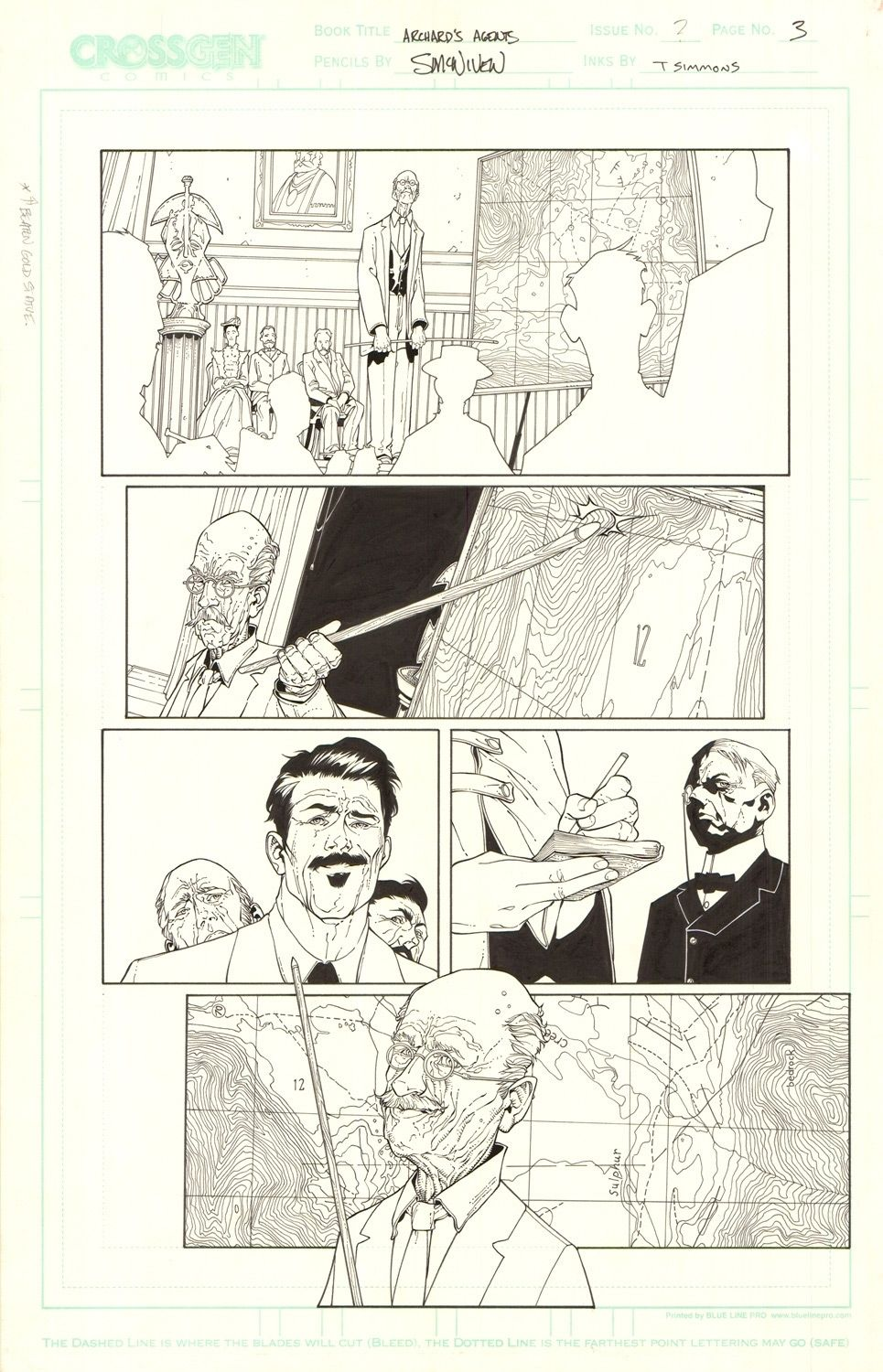 Archard's Agents #3 / 3
