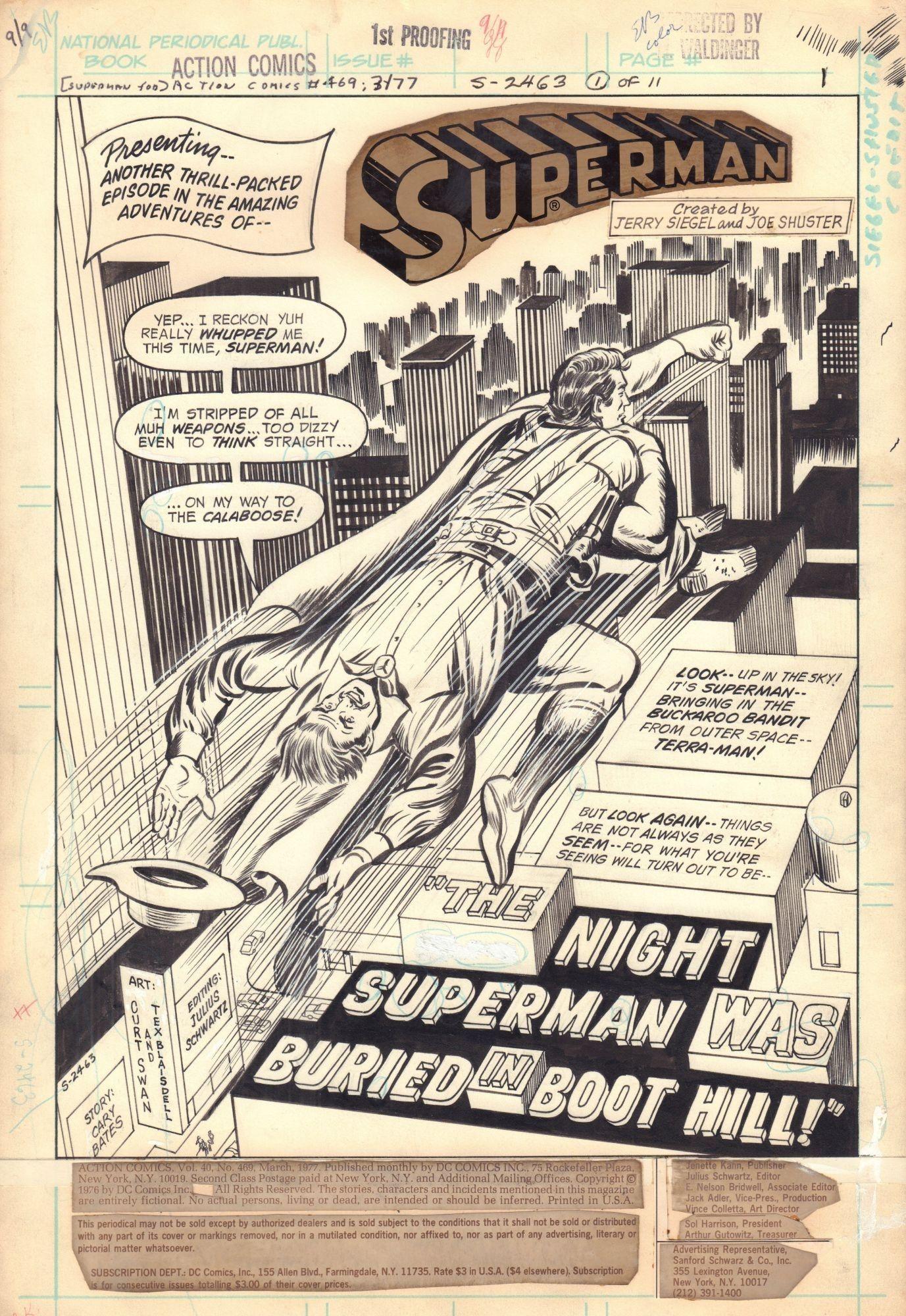 Action Comics #469 / 1