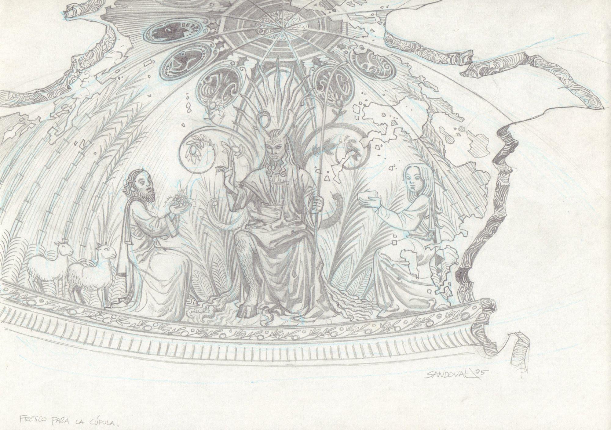Labirynt fauna - studium architektury A