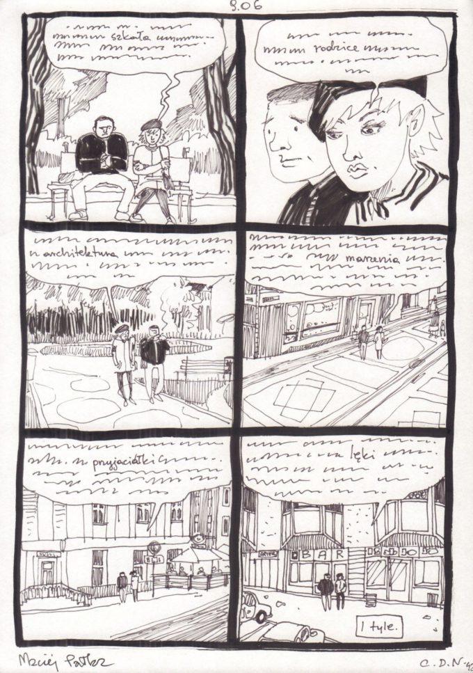s. 37-39 i 41-42 czarno-biały