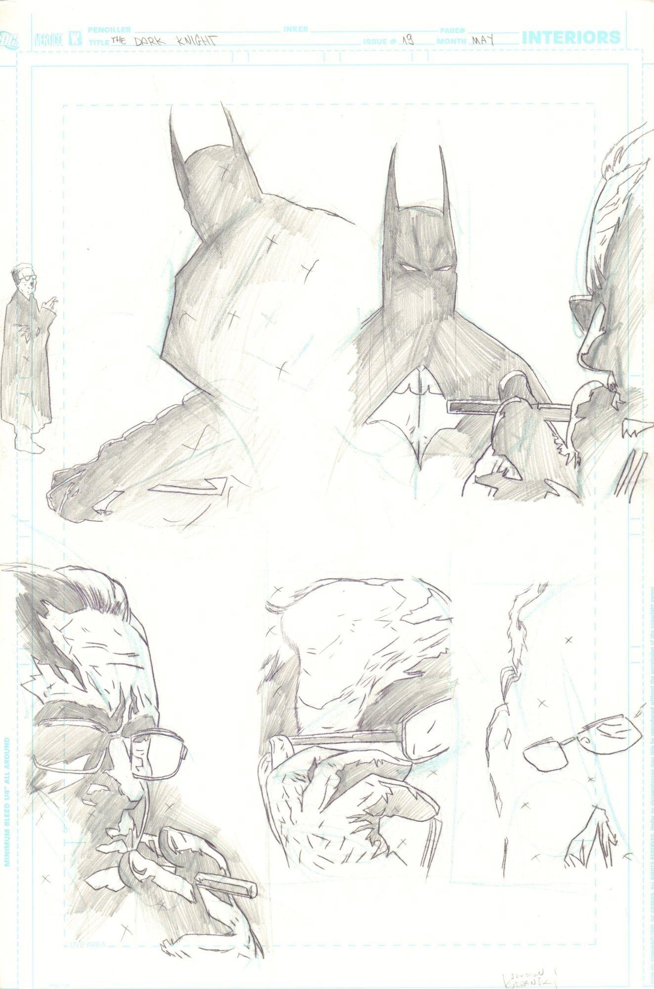 Batman: The Dark Knight #19 / 18-19