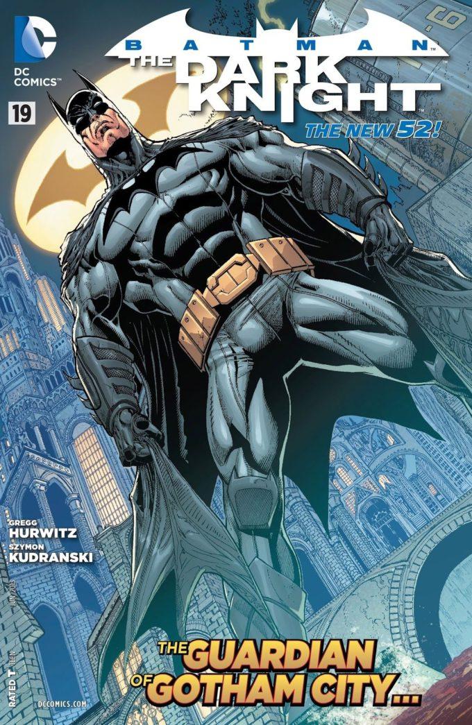 Batman: The Dark Knight #19 / 18-19 czarno-biały