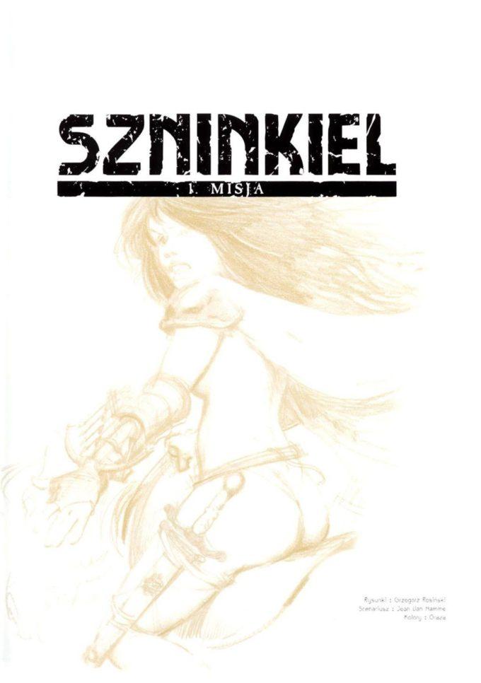 Szninkiel - studium postaci / strona tytułowa t. 1-2