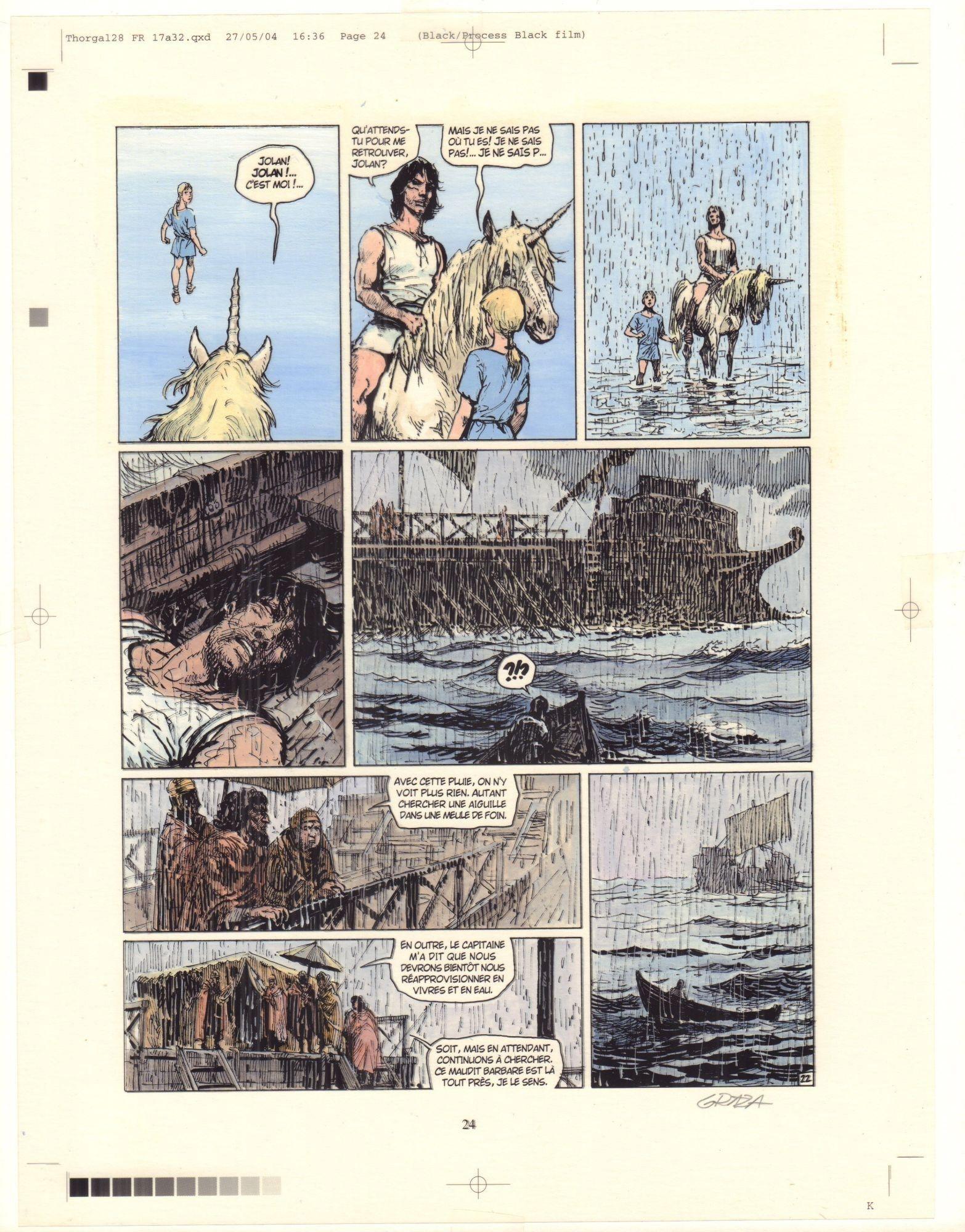 Thorgal. Kriss de Valnor, s. 22 (kolor)