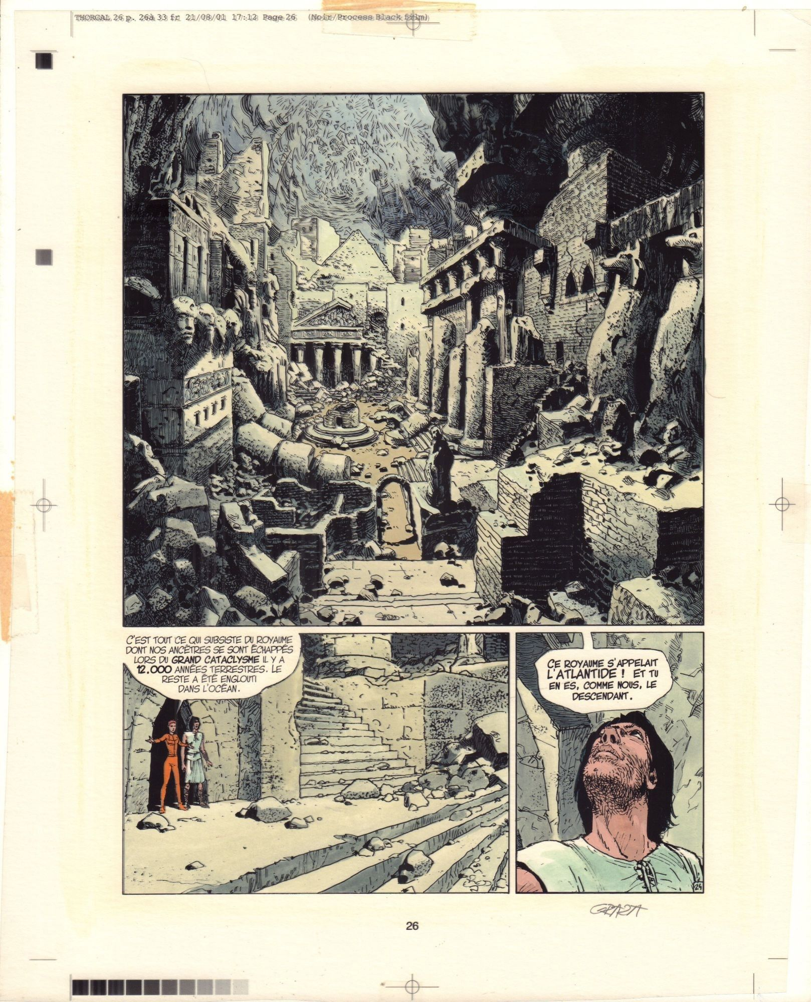 Thorgal. Królestwo pod piaskiem, s. 24 (kolor)