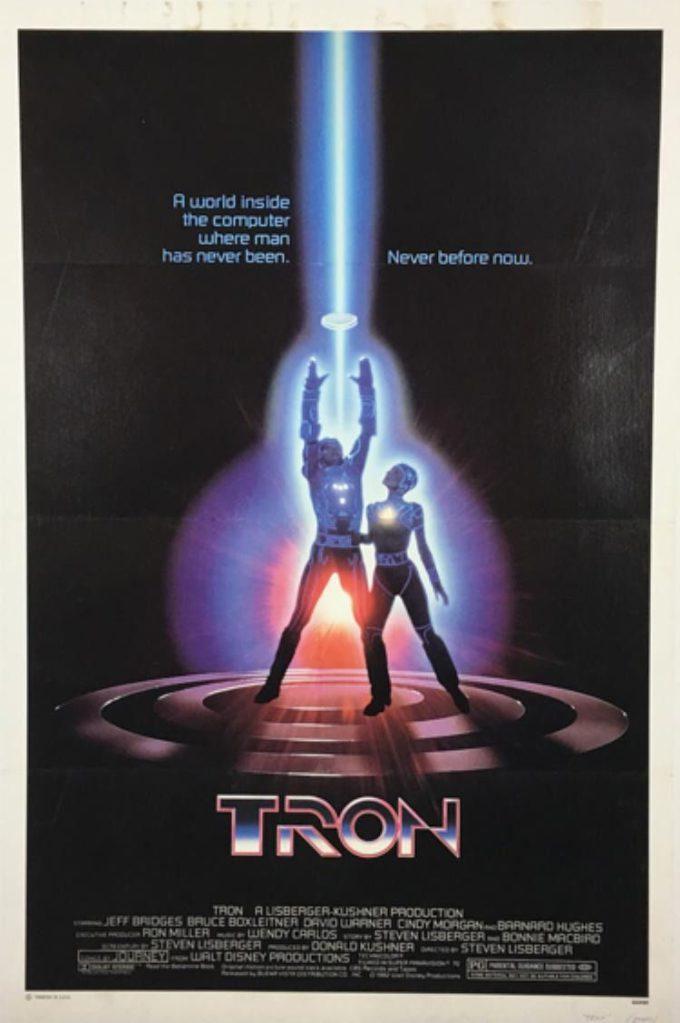 TRON (1982) BT-3/20 czarno-biały