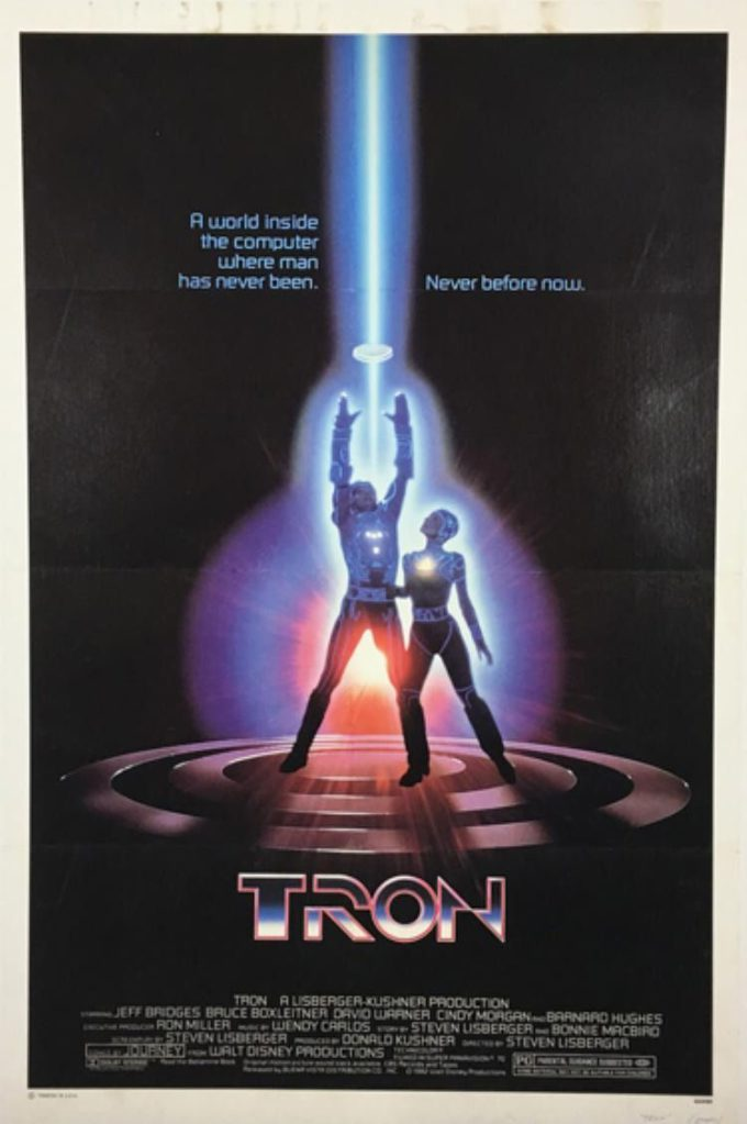TRON (1982) GS-9/97 czarno-biały