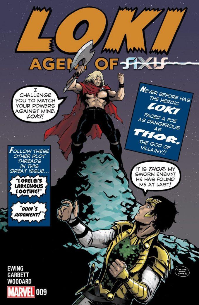 Loki: Agent of Asgard #9 / 14 czarno-biały