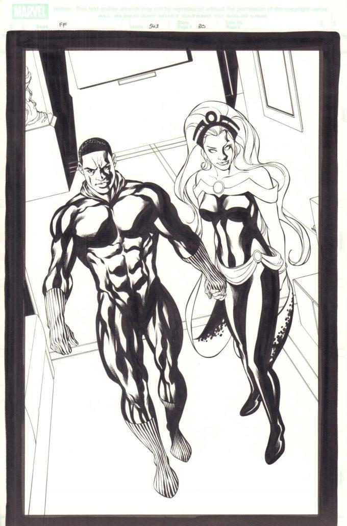 Fantastic Four Vol 1 #543 / 30