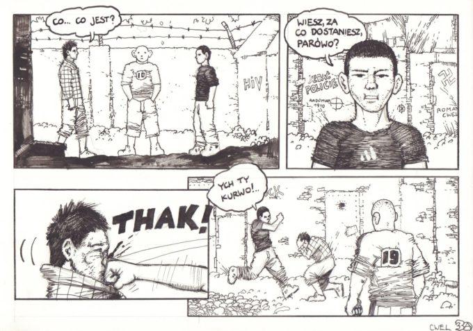 s. 36-48 (kompletna historia Sezon Grillów) czarno-biały