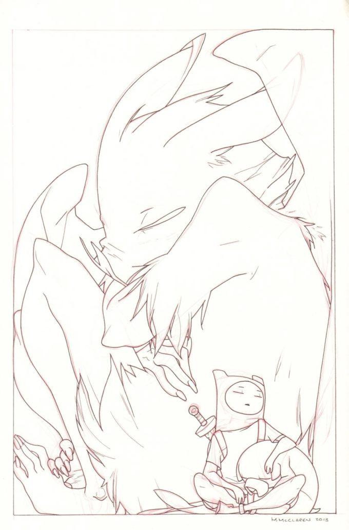 Adventure Time #16 - okładka