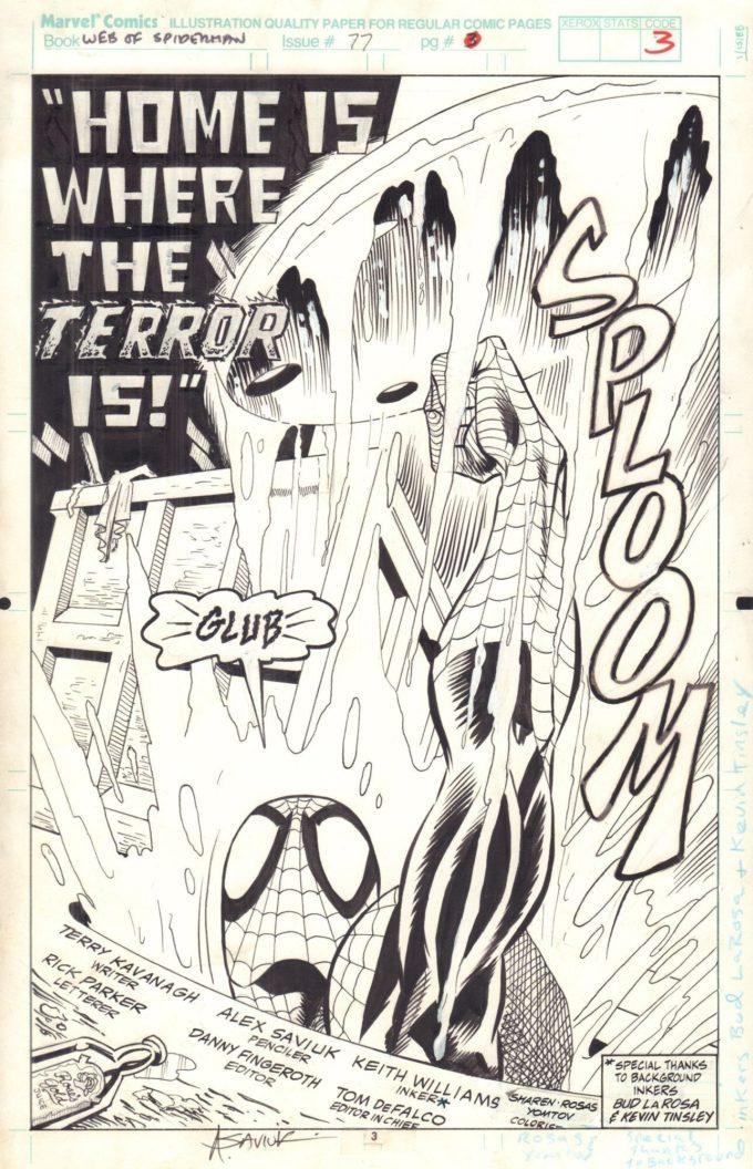 Web of Spider-Man #77 / 3