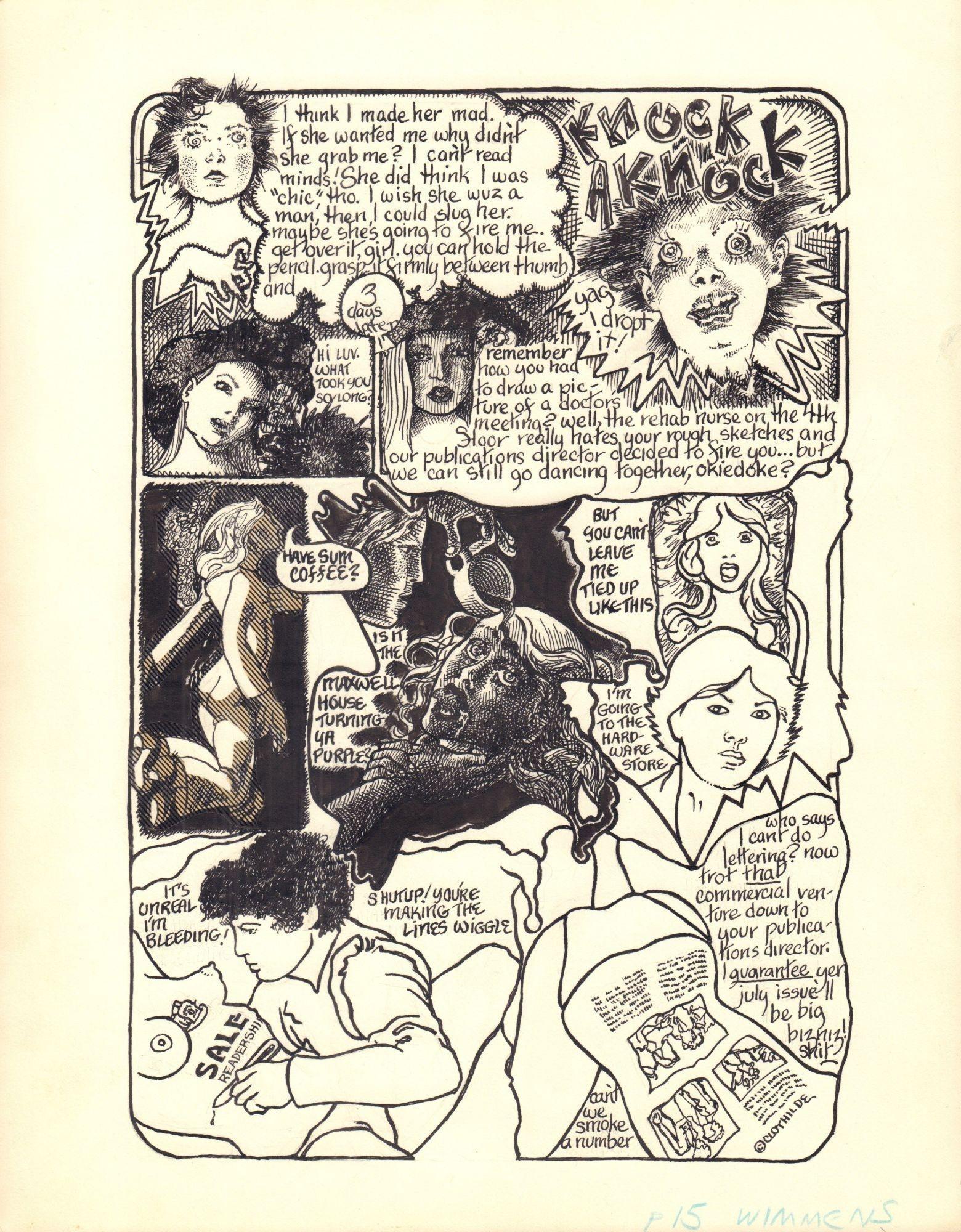 Wimmen's Comix #4, s. 15