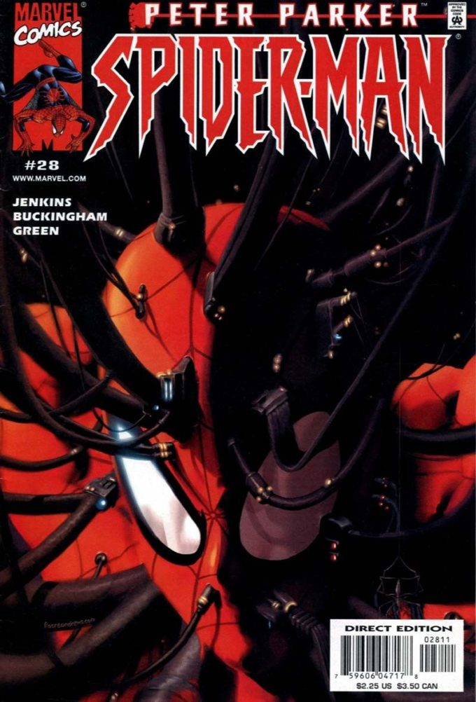 Peter Parker. Spider-Man vol 2 #28 / 22 czarno-biały