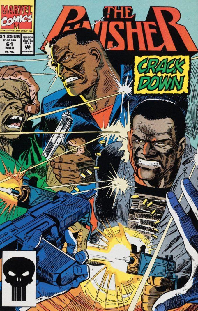 Punisher vol 2 #61 - okładka czarno-biały