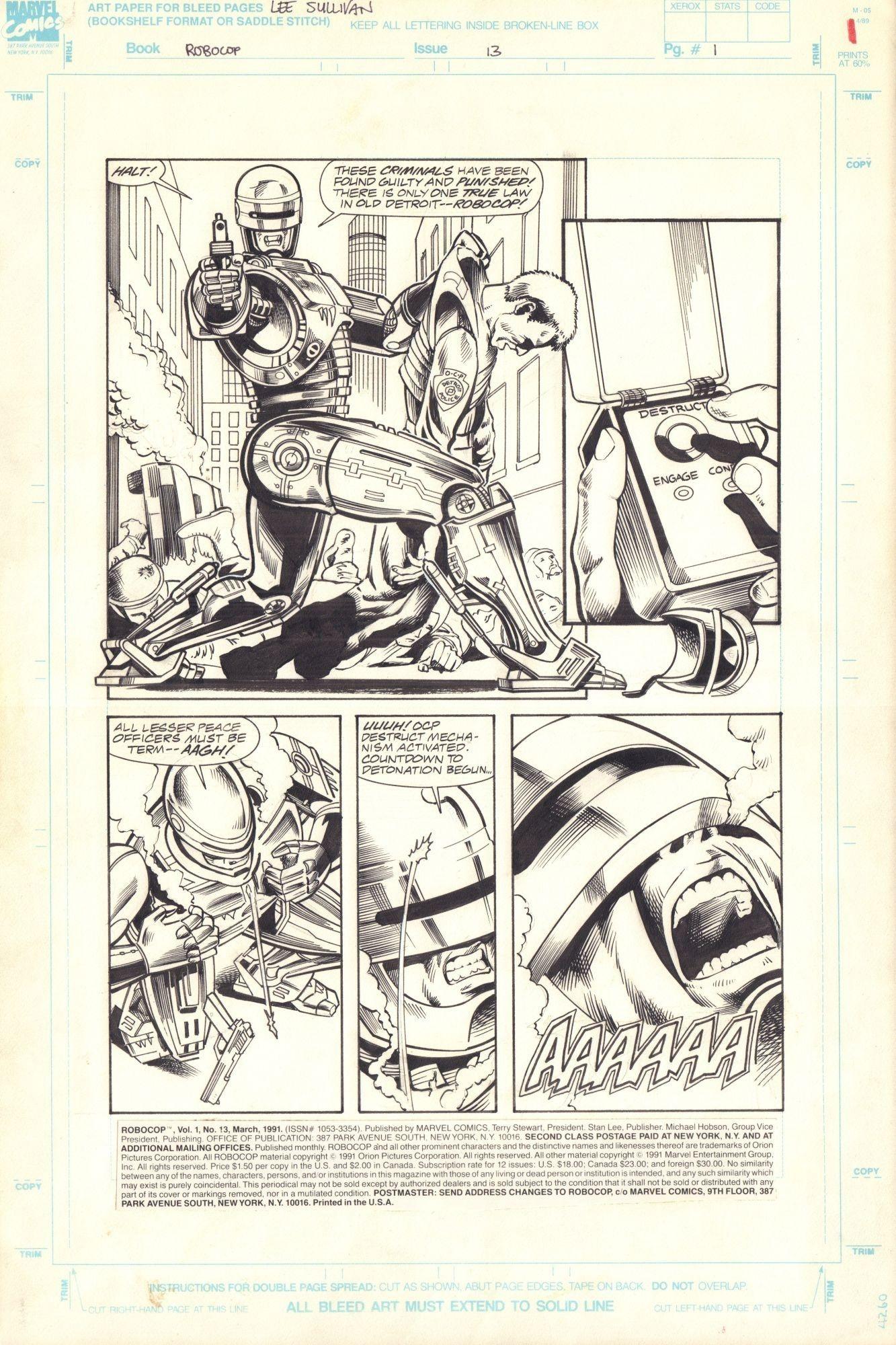 Robocop #13 / 1