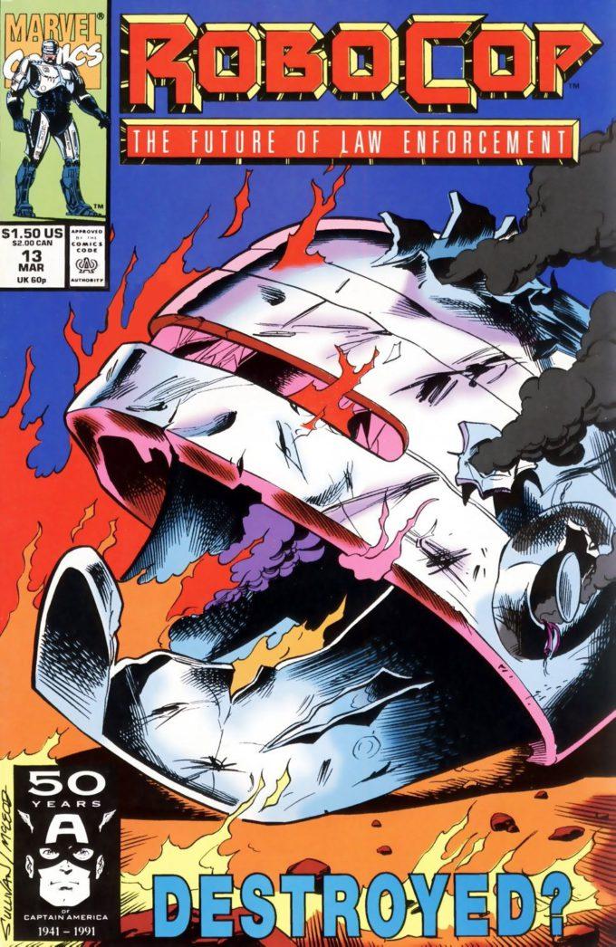 Robocop #13 / 1 czarno-biały